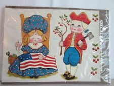 Vintage Meyercord Betsy Ross Decals For the Home New