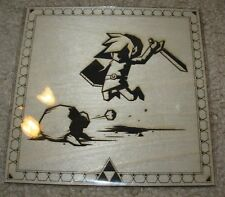 BRUCE YAN Legend Of Zelda Link poster WOOD letterpress print bottleneck gallery
