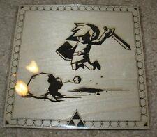 BRUCE YAN Legend Of Zelda Link poster WOOD letterpress print bottleneck gallery