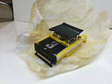 """AFX AURORA~CUSTOM~ FORD BRONCO Body YELLOW #3 """"BLACK OUT"""" NEW  Model Motoring #3"""