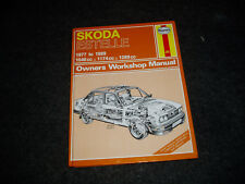 Skoda Estelle (1977 to 1989)  Haynes 'Owners Workshop Manual'...Lovely condition