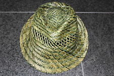 DSQUARED2 S/S 2015 TROPICAL SUN PANAMA STRAW HAT SONNENHUT HUT L so cool