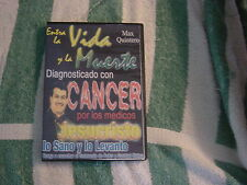 Max Quintero - Testimonio (DVD, 2004) Entra la Vida y la Muerte, in Spanish