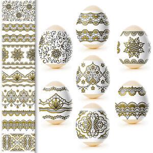 7 Easter Egg  Decoration Thermo Heat Shrink Sleeve Wraps Pysanka