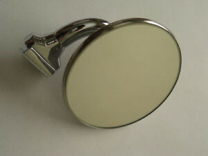 "NEW 4"" CONVEX LENS PEEP MIRROR HOTROD RATROD HOLDEN CHEV FORD"