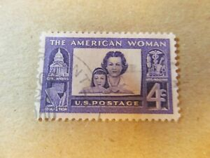 US Stamp Scott #1152 AMERICAN WOMEN, MOTHER AND DAUGHTER, 1960