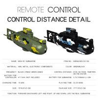 Mini RC Submarine Boat 3.7V Plastic Boat RC Toy Remote Control Boat Waterproof