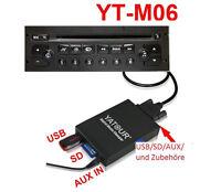 USB SD MP3 AUX MP3 CD Wechsler für original PEUGEOT Radio RD3 RB1 RB2 RB3 RM2