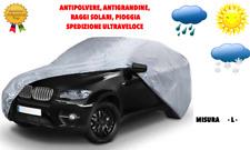 telo copri auto impermeabile felpato misura L anti grandine pioggia copriauto XL