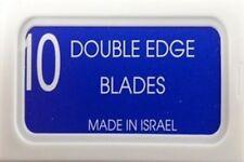 100 Crystal Israeli Personna Double edge razor blades