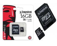 Kingston Technology 16gb Micro Sdö HC Card Class 4/ 1 Adapter