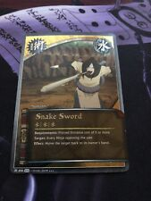 Naruto Cards TCG CCG Snake Sword 858 SUPER RARE COMBINED SHIPPING