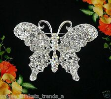 BUTTERFLY BROOCH PIN~MOTHERS DAY GIFT IDEA FOR HER MOM WIFE FRIEND GRANDMOTHER