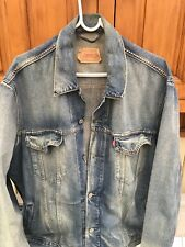 levi denim jacket XXL
