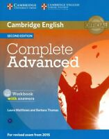 Cambridge English Complete Advanced : With Answers, Paperback by Matthews, La...