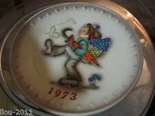 Vintage 1973 M.J. Hummel Globe Trotters Collector Plate
