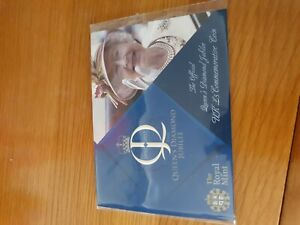2012 UK $5 COIN, QUEENS DIAMOND JUBILEE, STILL SEALED PACKET  L18