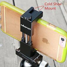 Ulanzi Metal Phone Tripod Mount with Hot Shoe Mount Smartphone Holder Video Rig