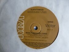 "EURYTHMICS"" When Tomorrow Comes / Take your Pain Away"" 7"" 45rpm Vinyl Record"