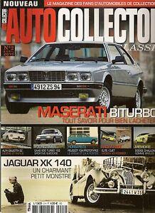AUTO COLLECTOR 2 MASERATI BITURBO JAGUAR XK140 DODGE CHALLENGER ABARTH 1300 GT