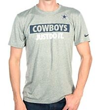 NFL Dallas Cowboys NIKE JUST DO IT T-Shirt Grey - Medium