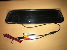 TFT LCD Rear View Mirror Monitor With 2 Video Inputs