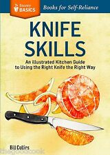 Knife Skills An Illustrated Kitchen Basics Guide to Using Knives Safely Book New