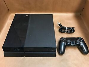 Sony Playstation 4 PS4 500GB Console and Power Cord Black Model CUH-1115A