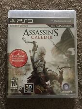 Assassin's Creed III (Sony PlayStation 3, 2012) PS3 Game Case And Booklet