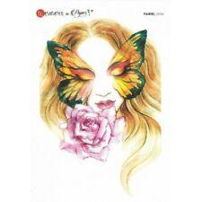 Papier de riz 29,5x41 cm Papillons Vintage Decoupage Collage Carterie
