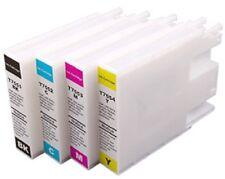 Auto reset carro de tinta recargables NON OEM reemplazar EPSON T7551 T7552 T7553 T7554