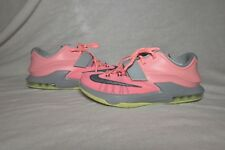 the latest 5d20a d64ad Nike Air KD 7 VI 35000 Degrees Pink Grey Volt Neon Sneakers Women s Size 8