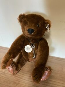 Steiff Margaret Strong Chocolate Brown Teddy Bear - 1983 Collector's Edition