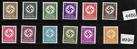 #4456   Stamp set / WWII Emblem / 1934-1942 / All stamps MNH / Third Reich era