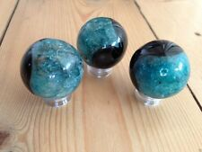 AGATE CRYSTAL 3CM BALL SPHERE GEMSTONE SCRYING HEALING REIKI NEW AGE PAGAN WICCA