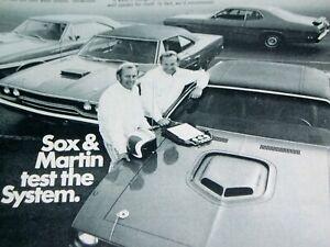 1970 PLYMOUTH BARRACUDA/Road Runner/GTX/DUSTER SOX & MARTIN ROAD TEST 426 HEMI