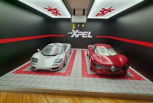 ######1/18 XPEL workshop detailing themed garage################################