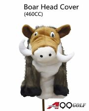 A99 Golf Animal Wood Headcover Boar Head Cover