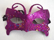 NEW Purple butterfly glitter Masquerade Mask Eye Prom Gothic halloween