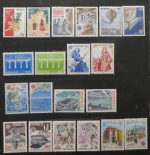 TIMBRES MONACO** 10 séries complètes EUROPA - 1981 à 1990 (A368)