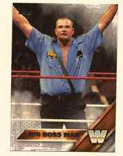 BIG BOSS MAN 2016 TOPPS WWE THEN NOW FOREVER SILVER PARALLEL - SP