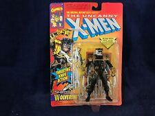 Vintage 1993 The Uncanny X-Men Wolverine Action Figure Black Marvel Comics NIP