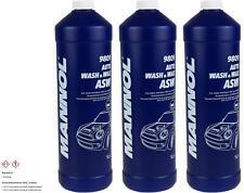 3x1 Liter MANNOL 9809 Auto Wash & Wax Autowäsche Glanzshampoo Polieröl