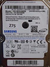 500GB Samsung HN-M500MBB | 2011.12 | PCB: M8_REV.03 #275