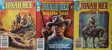 JONAH HEX & OTHER WESTERN TALES#1-3  LOT of 3 1979 DC DIGEST FREE SHIPPING