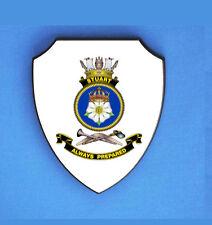 HMAS STUART ROYAL AUSTRALIAN NAVY WALL SHIELD IMAGE BLURED TO STOP WEB THEFT