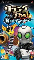 Used PSP Ratchet Clank: Maru Hi Mission Ignition  Japan Import ((Free shipping))