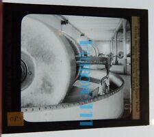 Skotifos Norway Paper Mills Drying Machine Glass Slide lantern Photograph