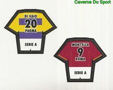 DI VAIO AC.PARMA MONTELLA AS.ROMA FIGURINE STICKER CALCIO MERLIN 2000-2001
