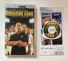 Gridiron Gang - UMD Video - Movie - Sony Playstation Portable PSP